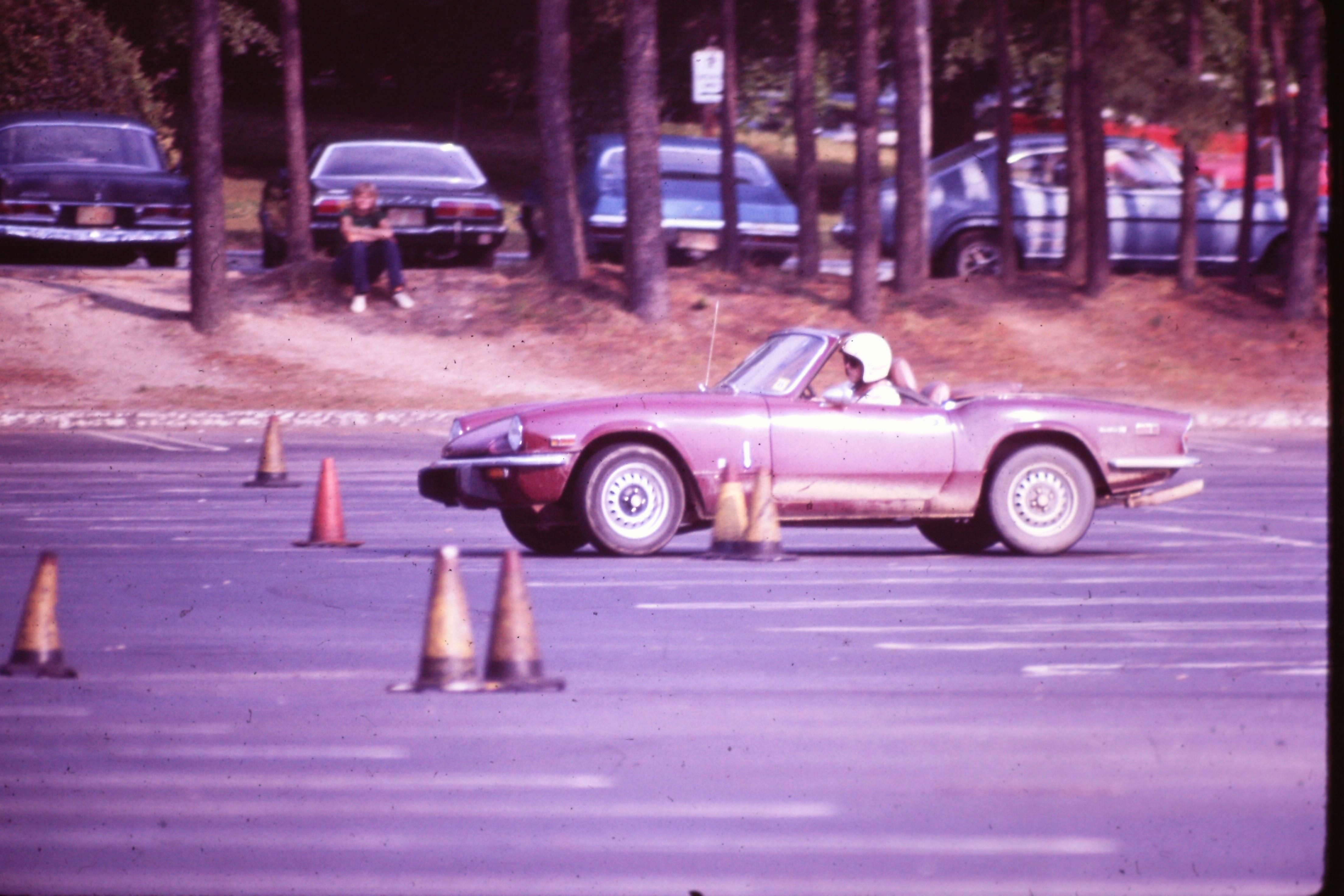 Autocross May 1978 Ncsu Parking Lot