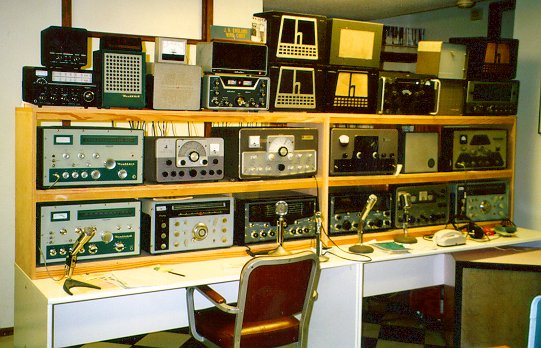 Marvelous K4Nyw Vintage Ham Radio Home Interior And Landscaping Eliaenasavecom
