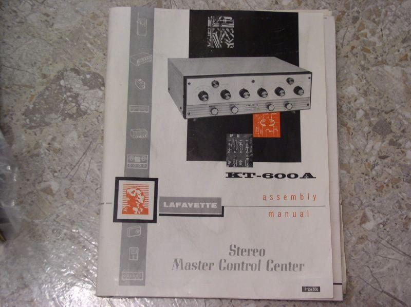 Dynaco Pat 4 Stereo Preamplifier