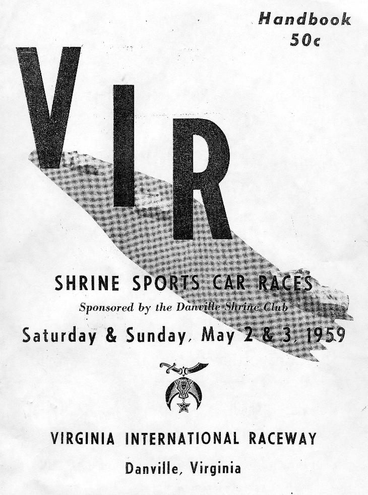 vir - 1959 may scca nationals