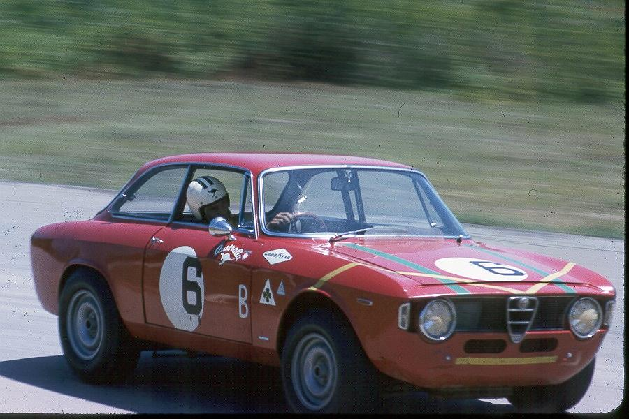 Horst Kwech at VIR 1966 Trans-Am
